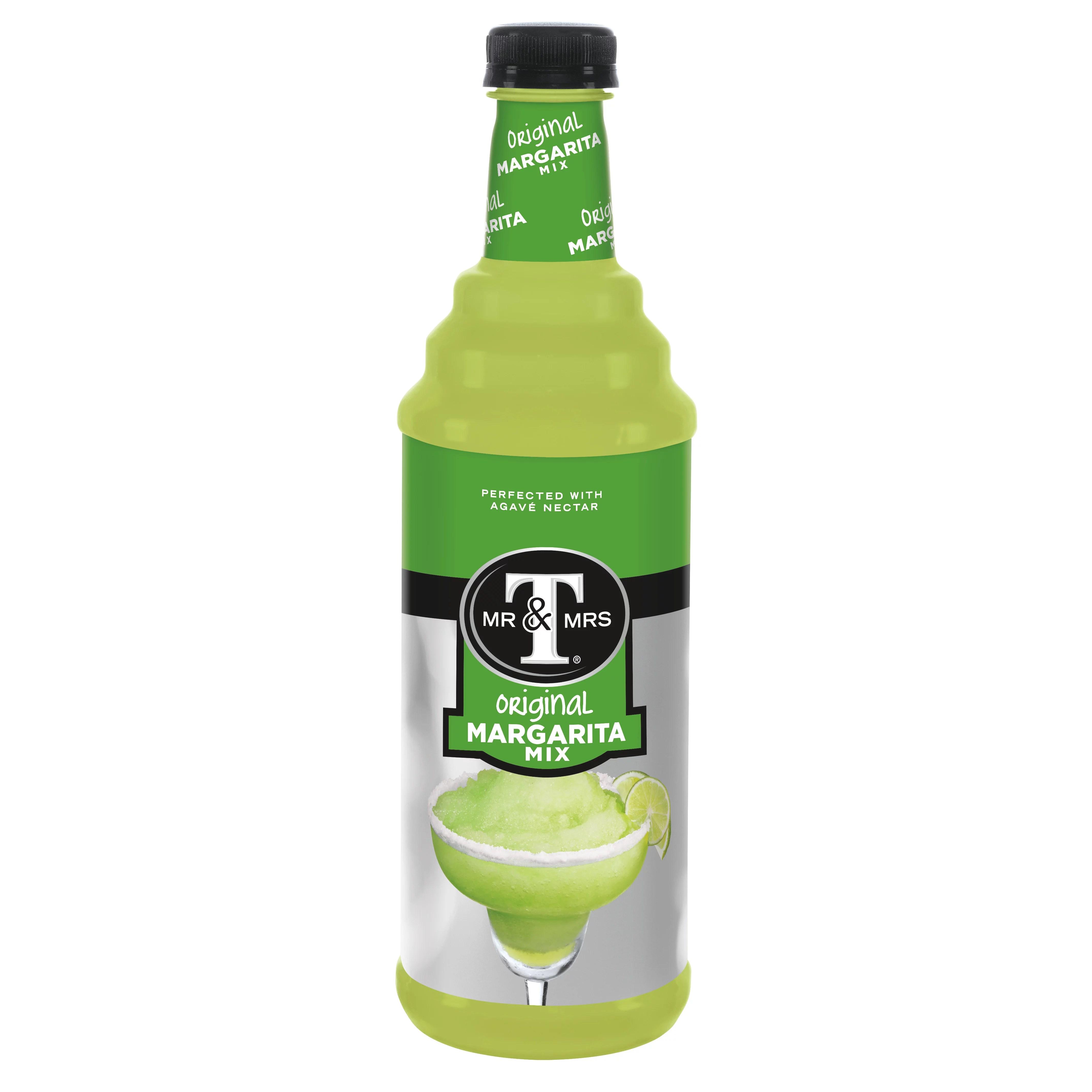 (2 Pack) Mr & Mrs T Margarita Mix, 1 L bottle, 1 Count