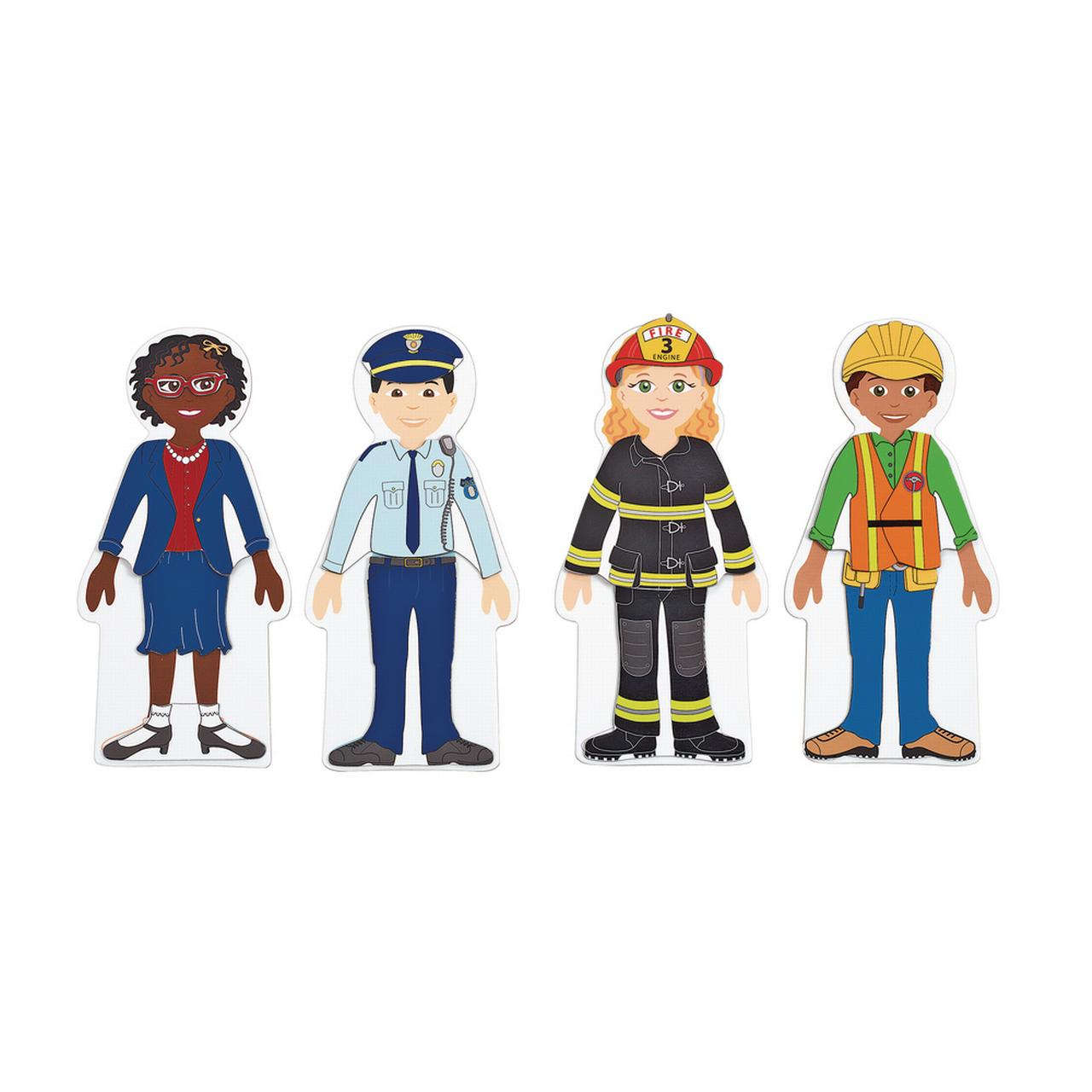Excellerations Magnetic Career Dressing 8 5 Inch Dolls 93