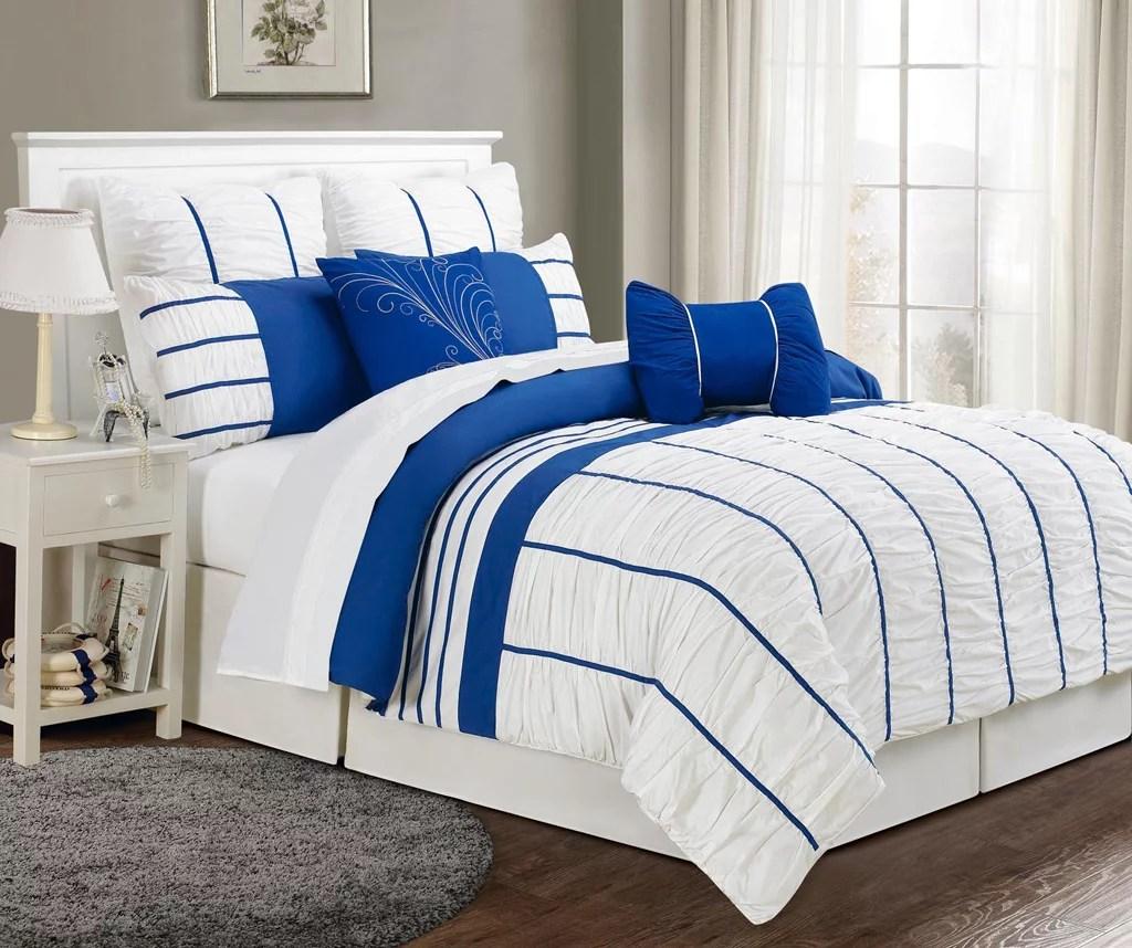 royal blue king comforter sets comfort