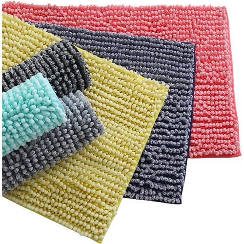 discontinued mainstays microfiber noodle bath rug on farmhouse colors for bath mats walmart id=96411