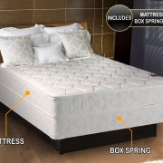 Legacy Gentle Firm Full Size 54 X75 X8 Mattress And Box Spring Set Y Assembled Good For Your Back Superior Quality Longlasting Comfort One
