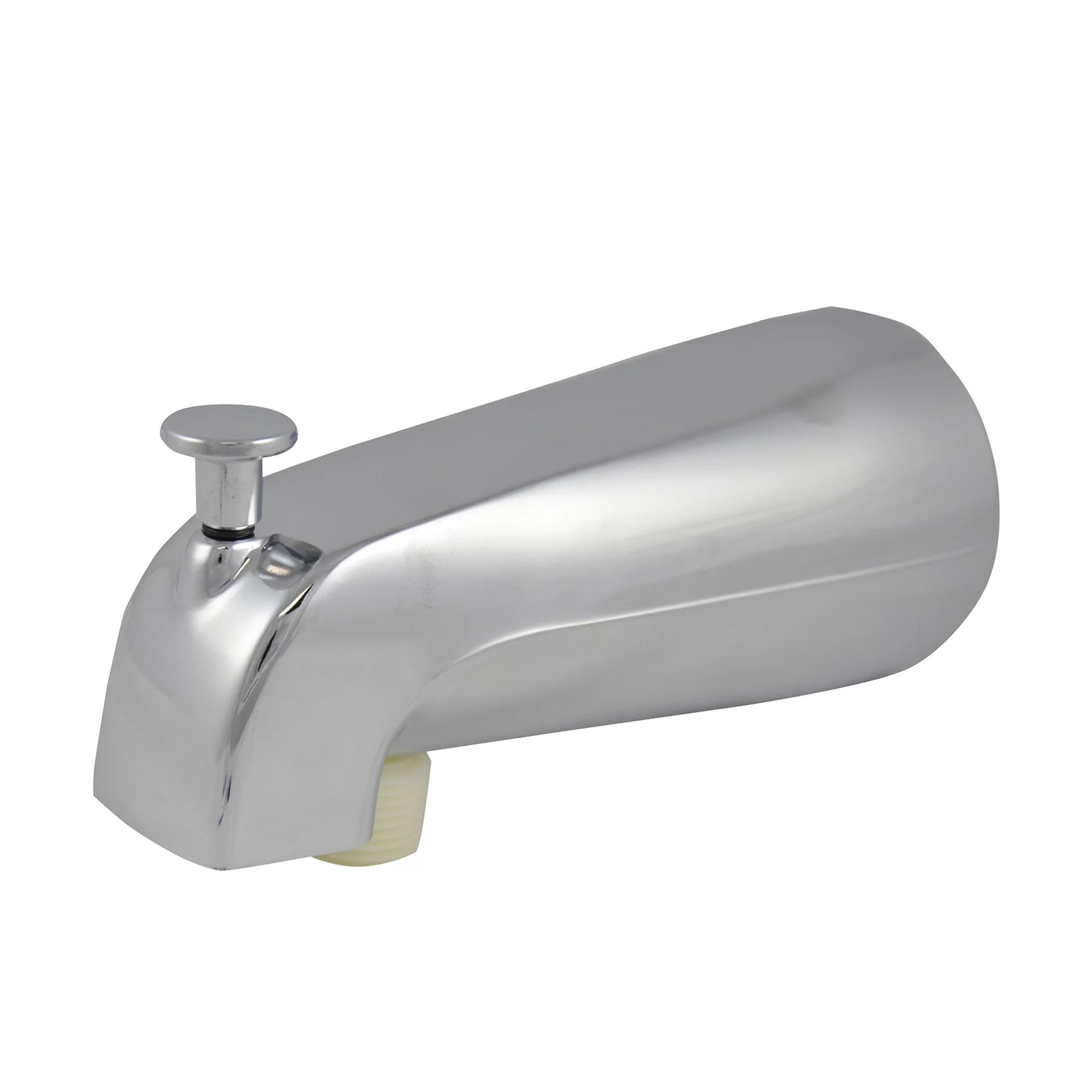danco universal tub spout with handheld shower fitting chrome 89266 walmart com