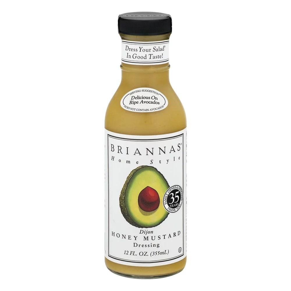 Brianna s Honey Dijon Mustard Dressing 12 oz Walmartcom
