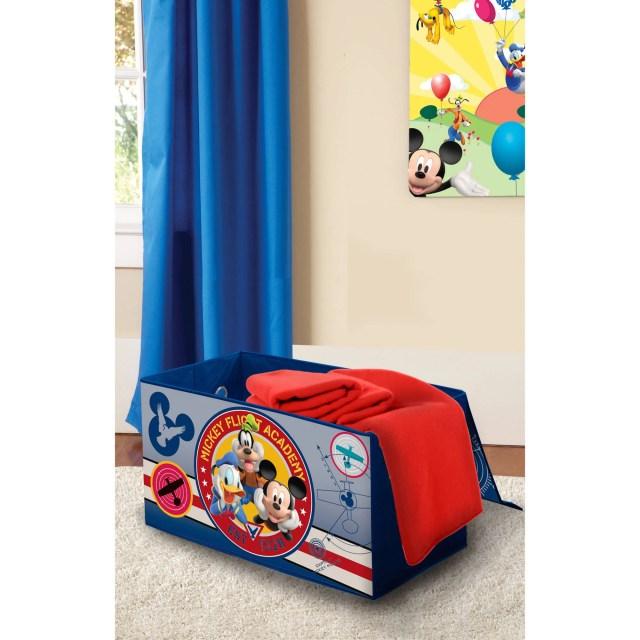 Disney Mickey Mouse Room in a Box with BONUS Toy Bin Walmart