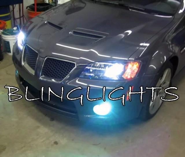 Holden Ve Commodore Ssv Special Edition White Halo Fog Lamp Driving Light Kit Walmart Com