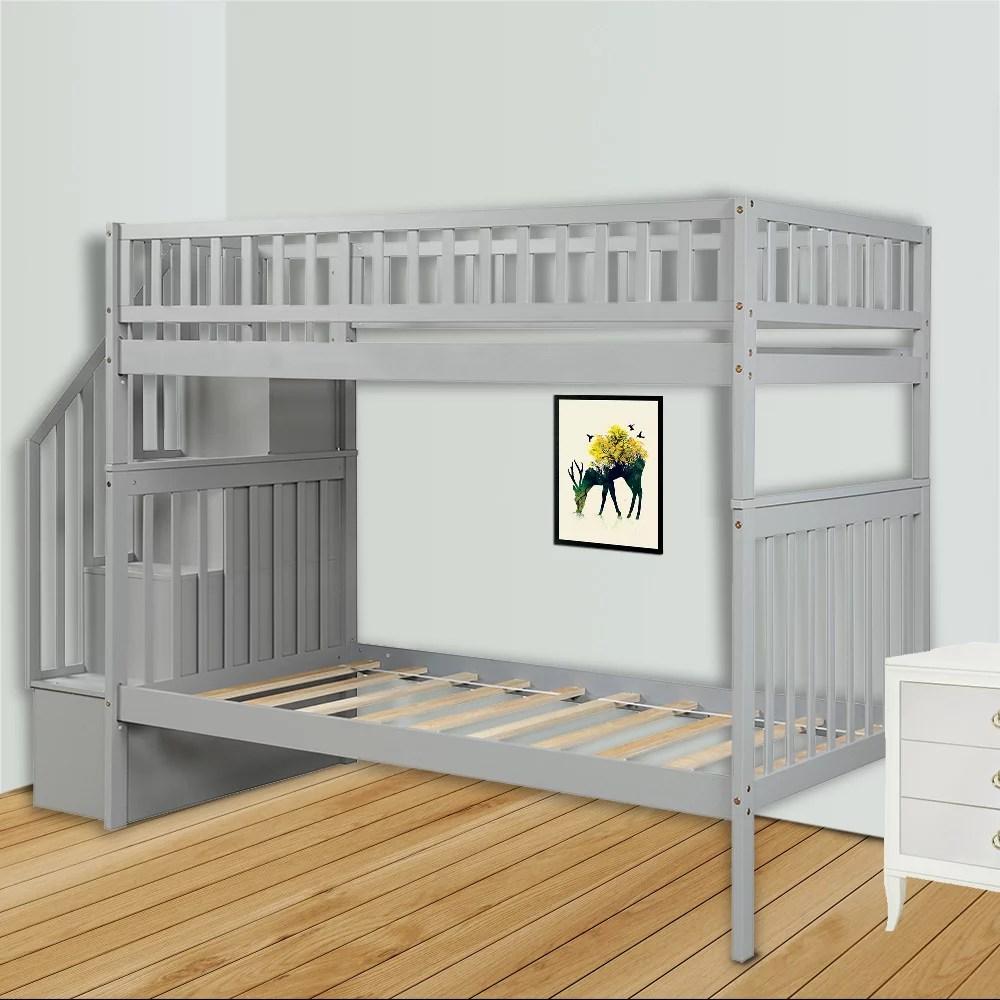 twin over twin bunk bed clearance 75 5 x37 x 67 on walmart bedroom furniture clearance id=24294