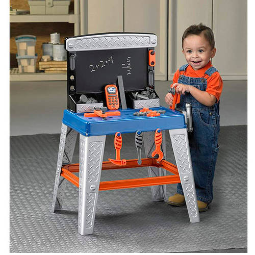 American Plastic Toys My Very Own Tool Bench Ft 34