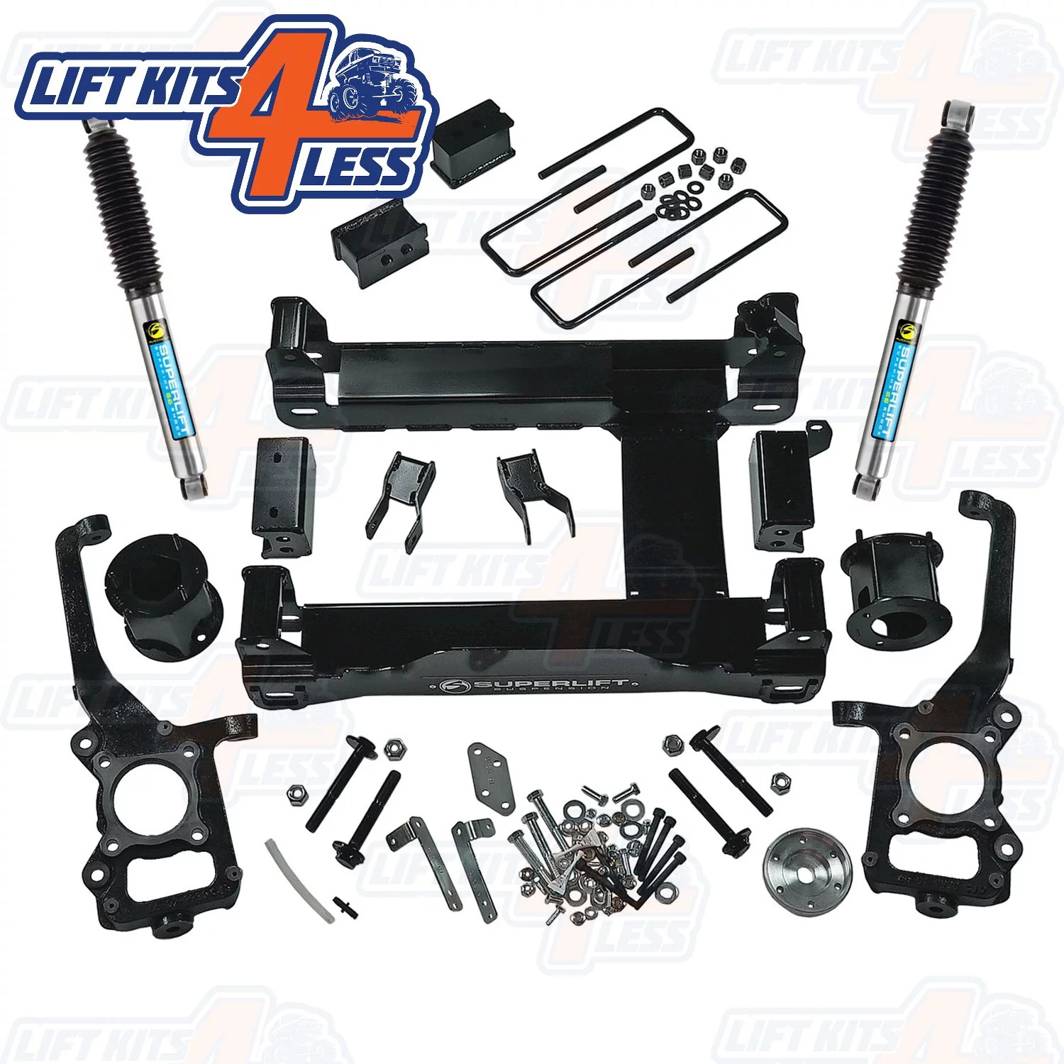 Superlift K126B 4.5″ Suspension Lift Kit for 2015-2019 Ford F-150 4WD