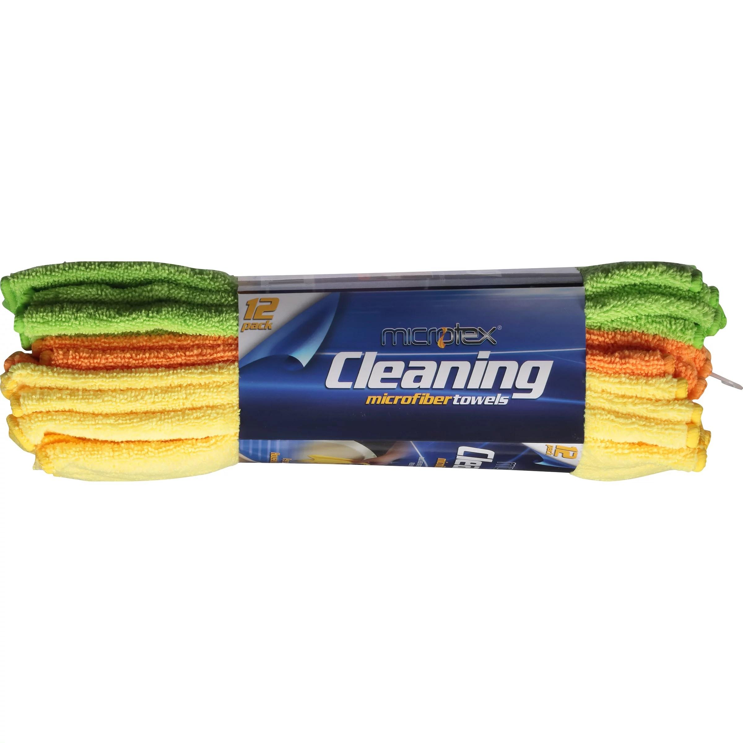 Microtex Microfiber Towels