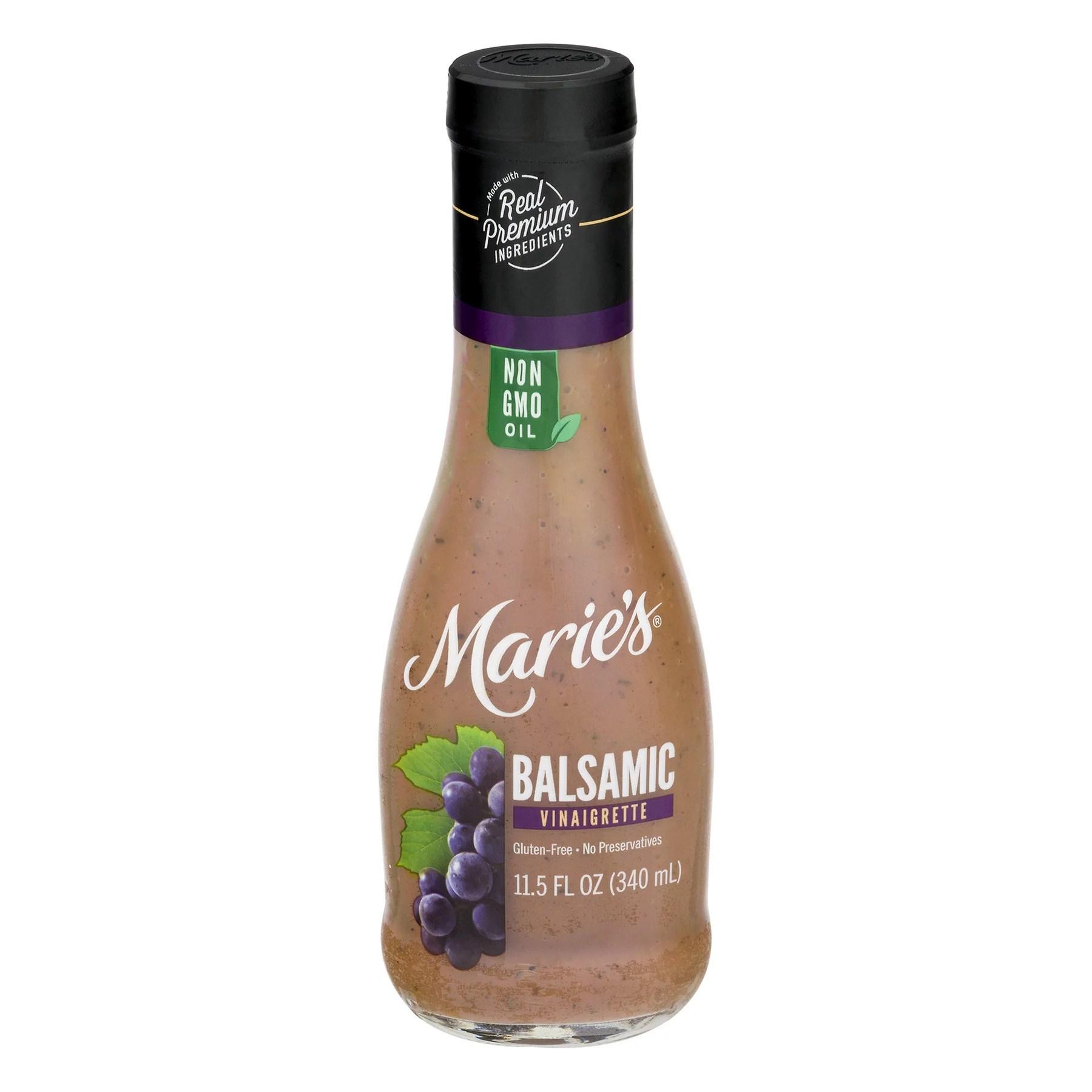 Marie39s Balsamic Vinaigrette 115 fl oz Walmartcom