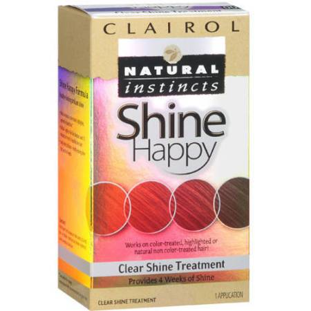 clairol natural instincts shine happy hair treatment walmart