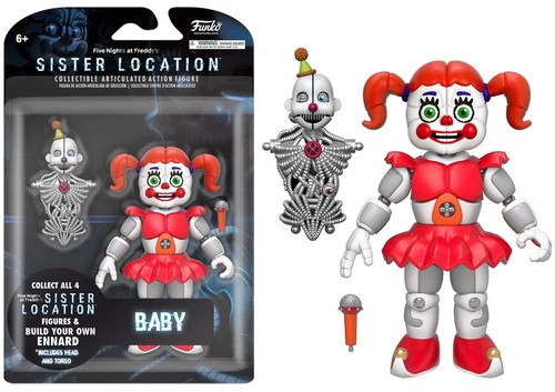Funko 5 Articulated Action Figure Five Nights At Freddy S Baby Walmart Com Walmart Com