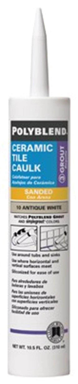 building products pc14510s 6 10 5 oz polyblend ceramic tile caulk light smoke