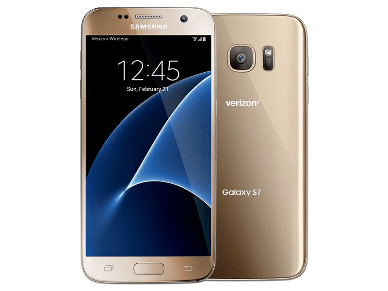 Samsung Galaxy S7 SM-G930V 32GB Gold (Verizon Wireless ...