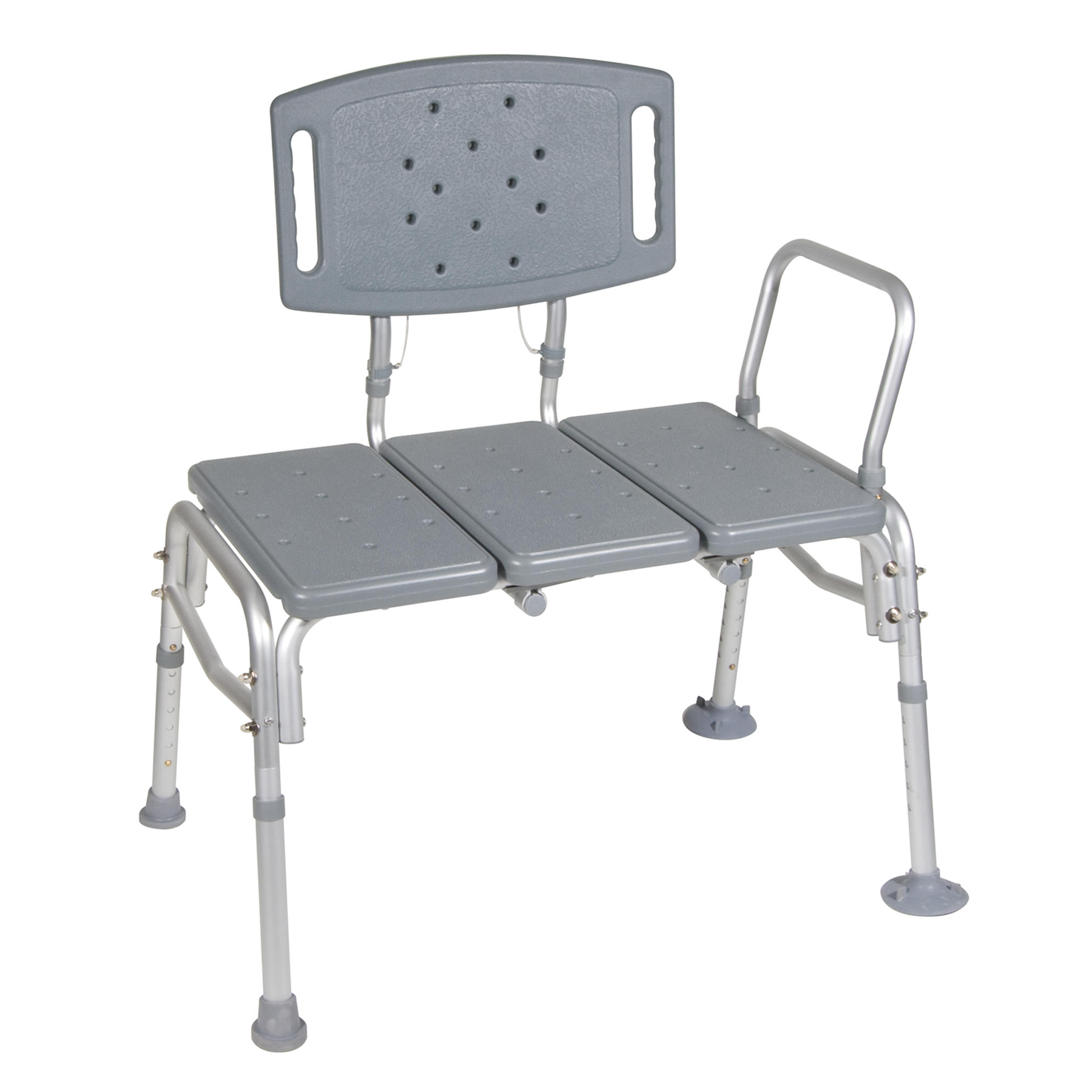 drive medical heavy duty bariatric plastic seat transfer bench