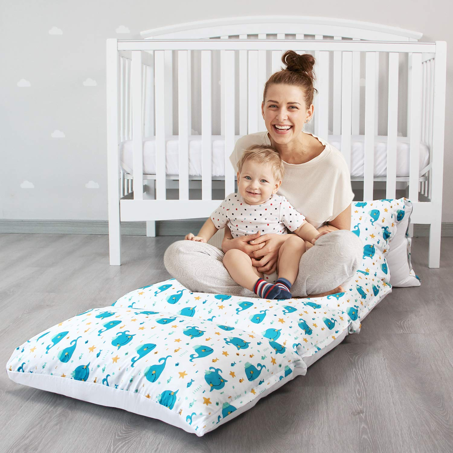 biloban kids floor pillow lounger cover cover only non slip and soft floor cushion for boys and girls floor bed floor couch fold out sofa bed