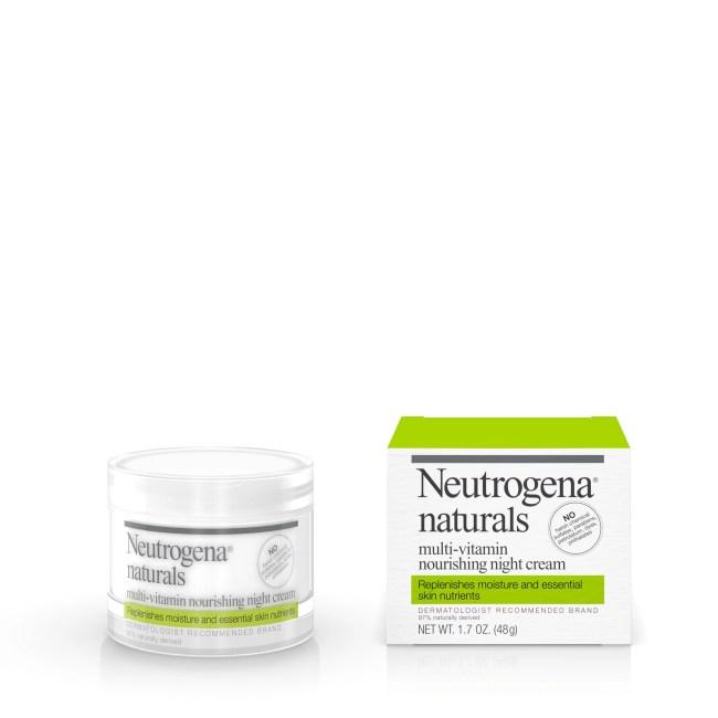 Neutrogena Naturals Multi-Vitamin Hydrating & Nourishing Facial Night Cream, 1.7 Oz.