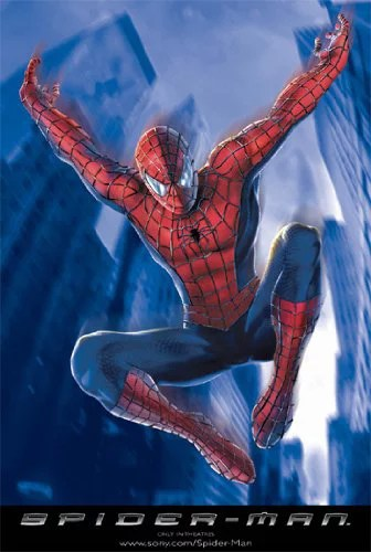 spider man poster jumping spiderman new 24x36