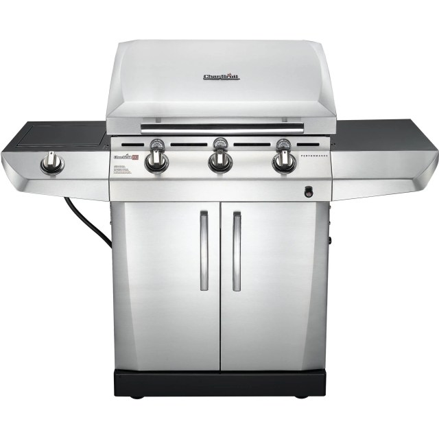 Char-Broil Performance TRU-Infrared T-36D 3-Burner Gas Grill with Side Burner