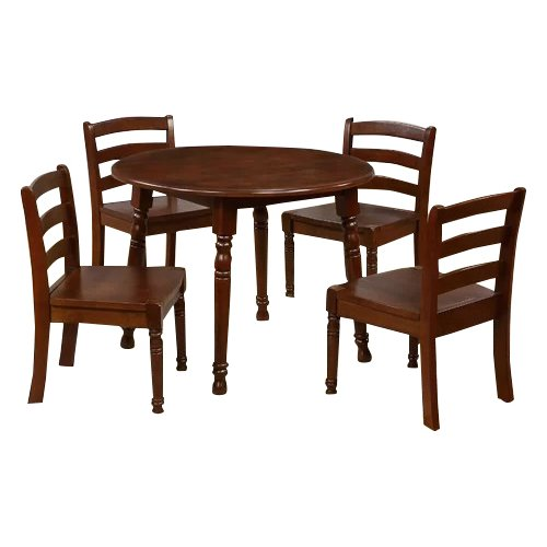 EHemco Kids 5 Piece Round Table And Chair Set