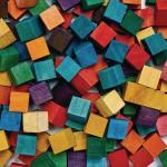 Colorations Colored Wood Cubes 196 Pieces 5 8 Inch Dyed Natural Wood Geometric Building Arts Crafts Decorations Multi Colored Diy Crafts For Kids Stem Item Cwcb Walmart Com Walmart Com