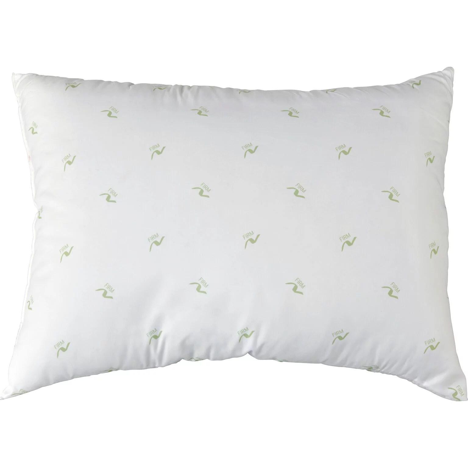 mainstays back sleeper firm pillow 1 each walmart com