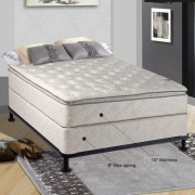 Spinal Solution Orthopedic 10 Firm Innerspring Mattress With Box Spring