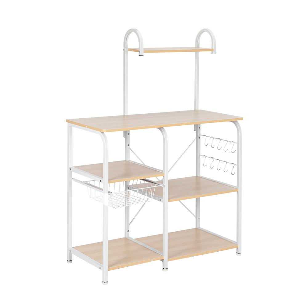 3 tier kitchen bakers rack with wheels