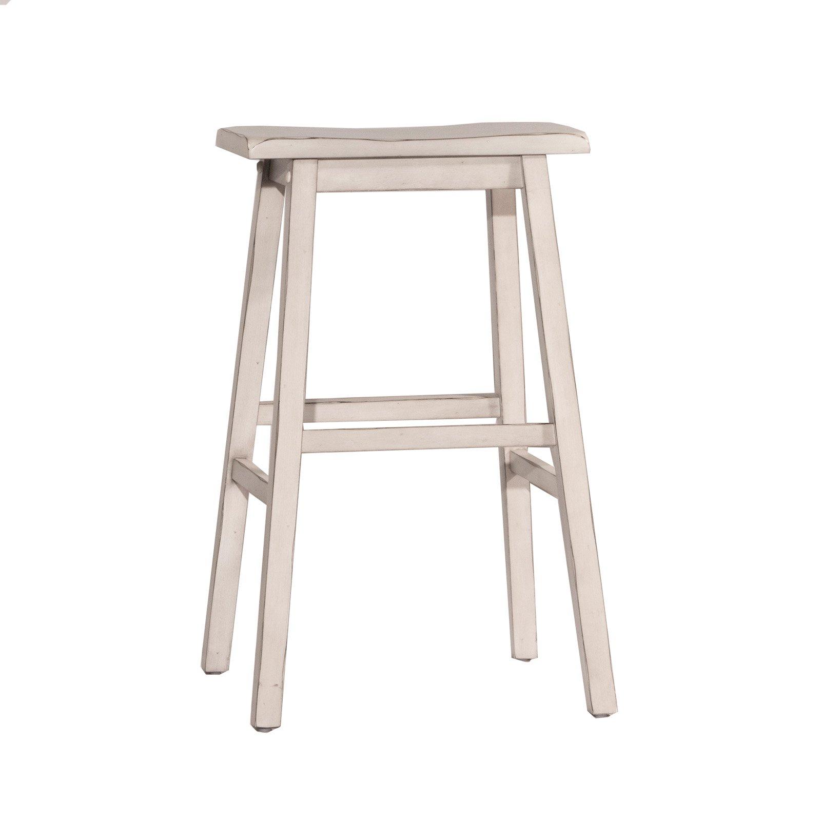 29 Moreno Backless Nonswivel Bar Stool Sea White Hillsdale Furniture Brickseek