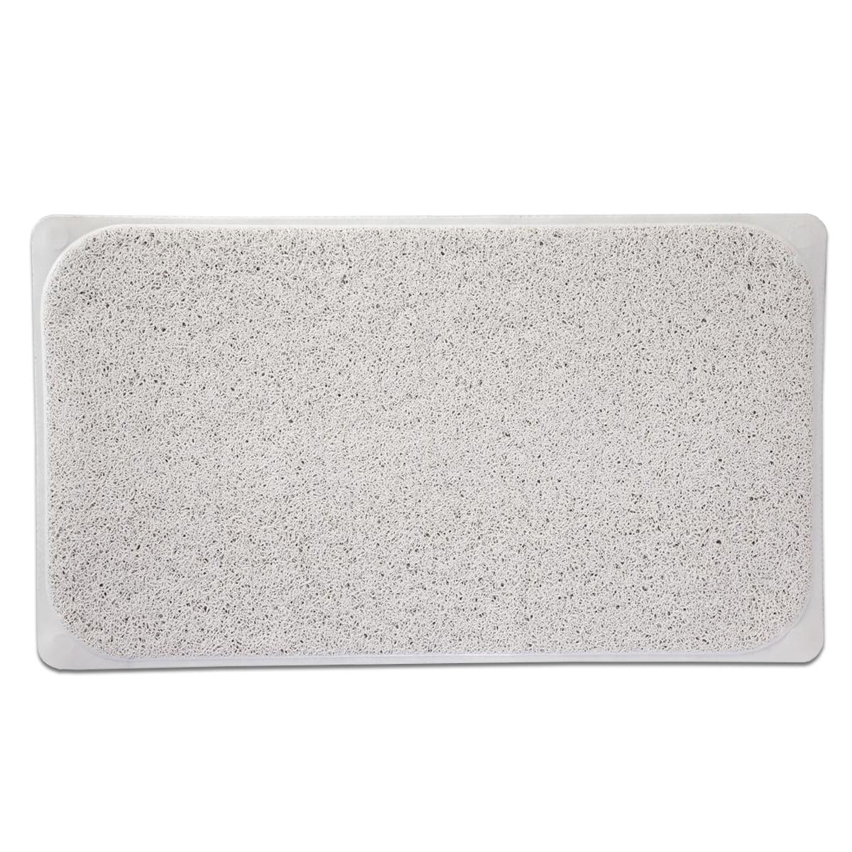 premium woven loofah non slip bathtub shower mat 17 25 on farmhouse colors for bath mats walmart id=43992