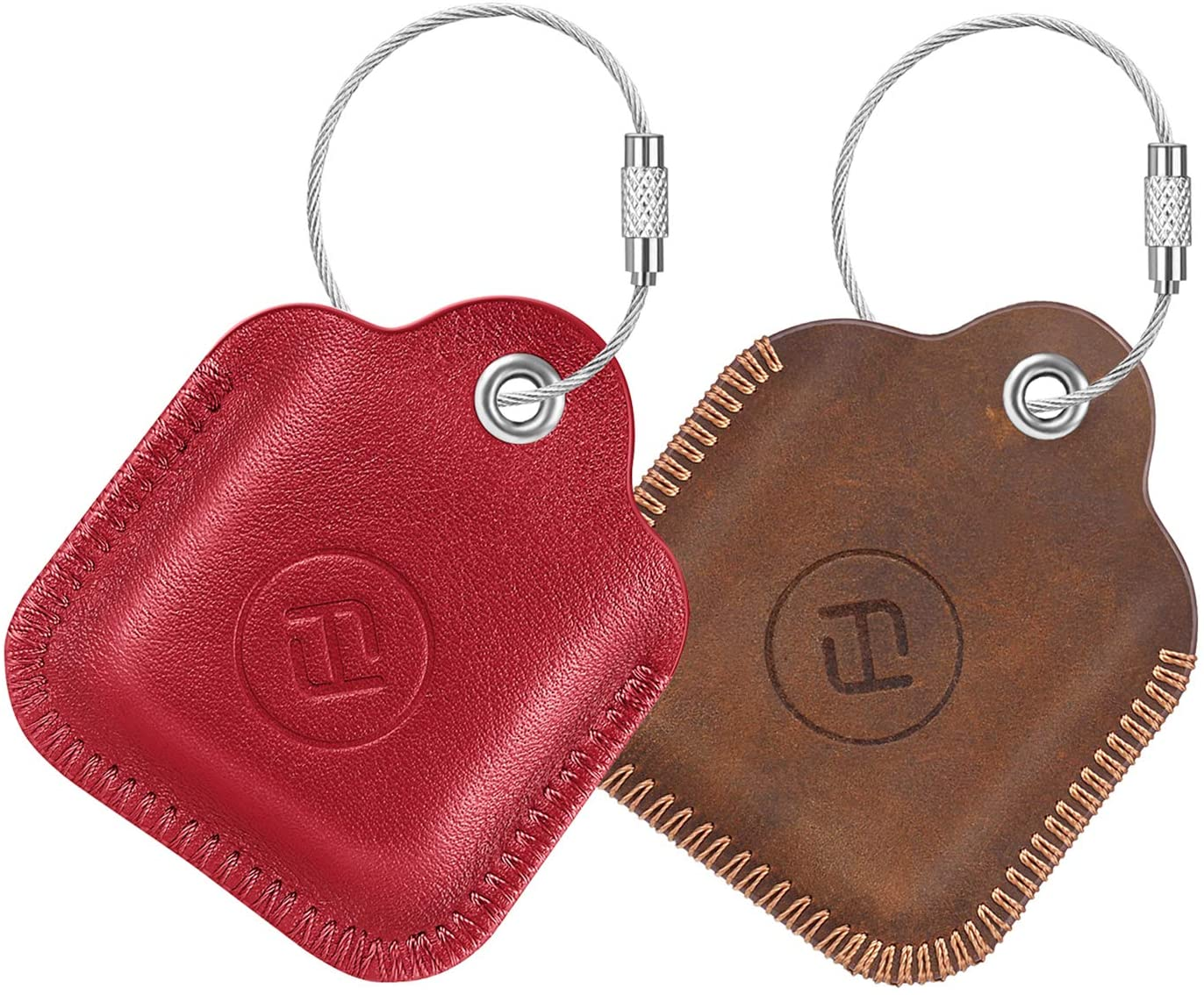 2 pack fintie genuine leather case for