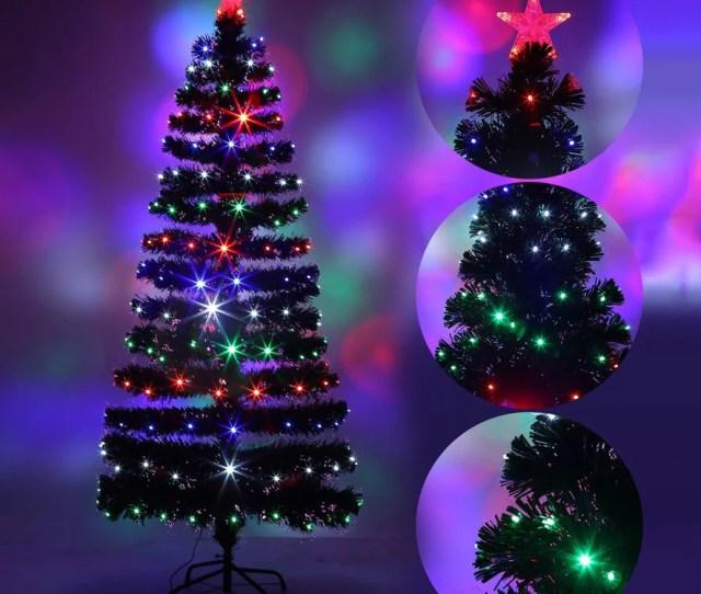 Festival Indoor Led Fiber Optic Light Christmas Tree Decoration