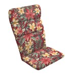 Arden Selections Ruby Clarissa Tropical 45 5 X 20 In Outdoor Adirondack Chair Cushion Walmart Com Walmart Com