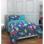 Mainstays Kids Outer Space Bed In A Bag Bedding Set Walmart Com Walmart Com