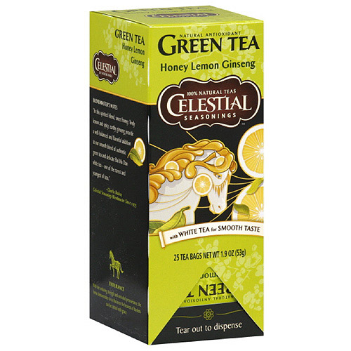 Celestial Seasonings Honey Lemon Ginseng Green Tea With