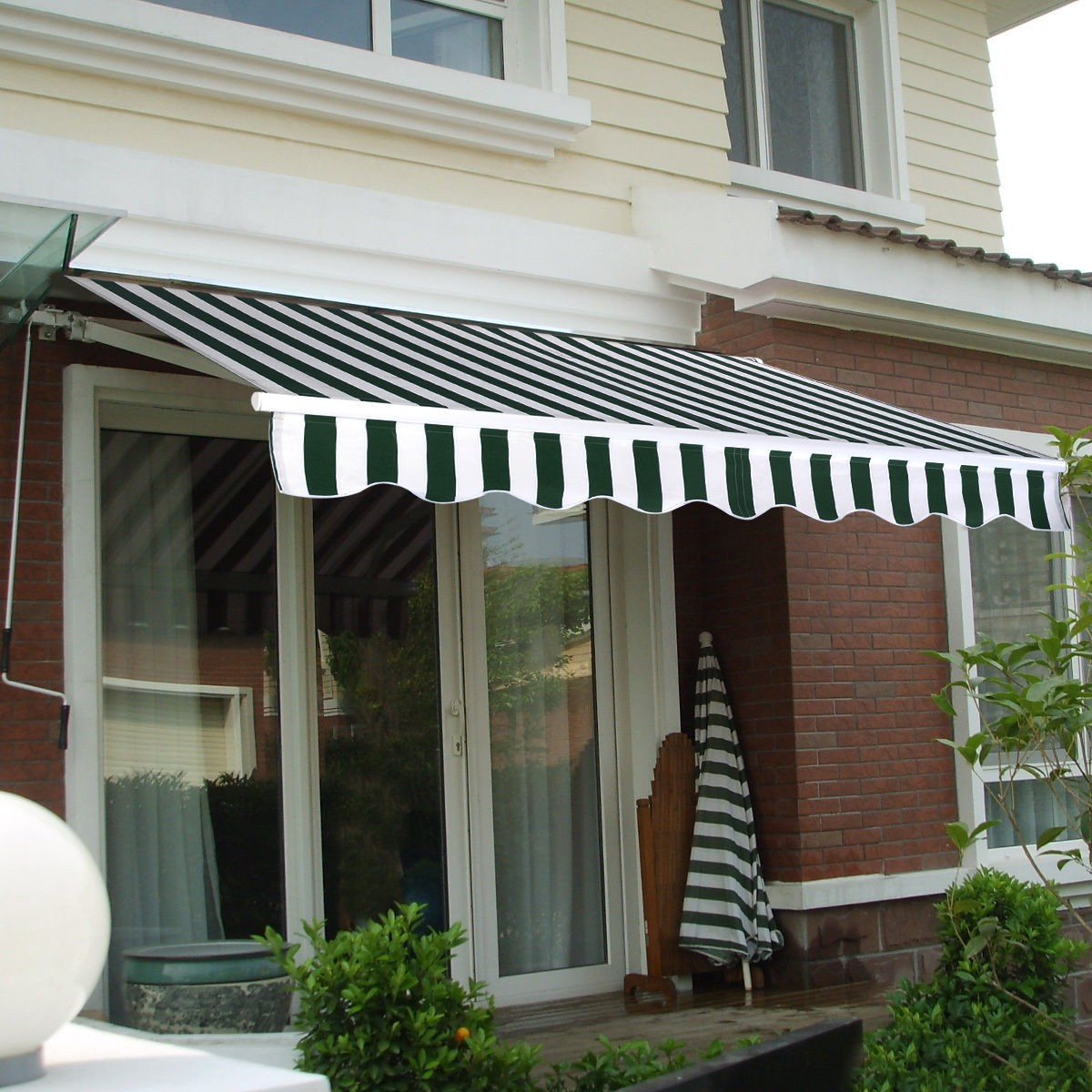 patio awning canopy retractable deck