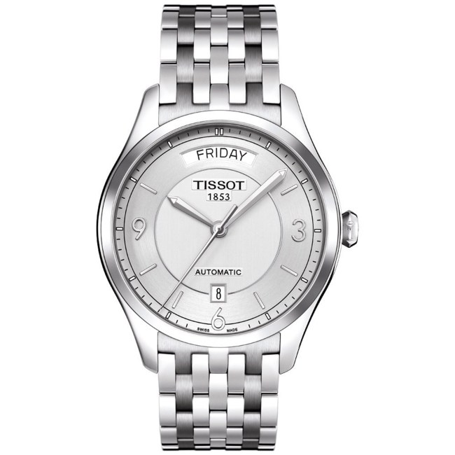 Tissot Men's T-One T038.430.11.037.00 Silver Stainless-Steel Automatic Fashion Watch