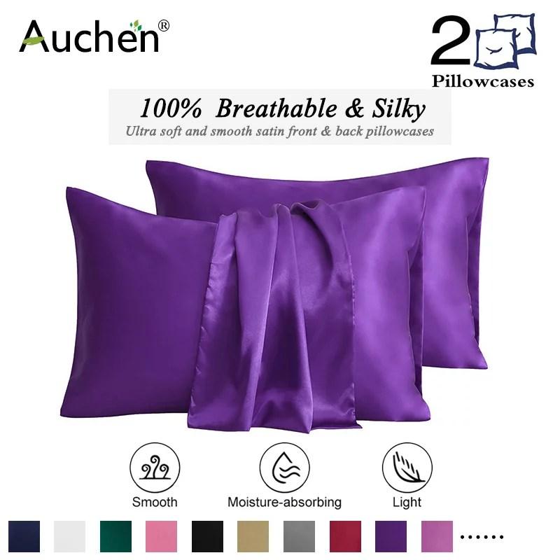pillow cases purple walmart com
