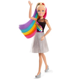 "Barbie 28"" Rainbow Sparkle Best Fashion Friend Doll (Blonde Hair), Ages 3 +  - Walmart.com - Walmart.com"