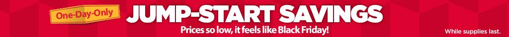 Jump Start Online Specials Shelf Header