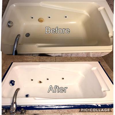 white rust oleum specialty tub tile refinishing quart