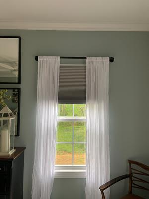 walmart pipe curtain rod