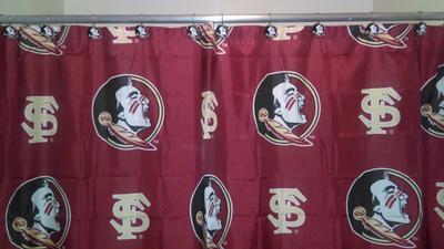 ncaa florida state shower curtain 1 each