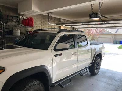 for 2005 2019 toyota tacoma double cab top roof rack cross side rails bars set