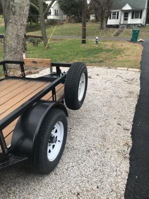 maxxhaul spare tire carrier