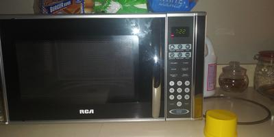 rca 1 1 cu ft microwave oven stainless steel