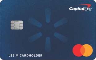 Walmart's Capital One credit card can save you as much as 5%.