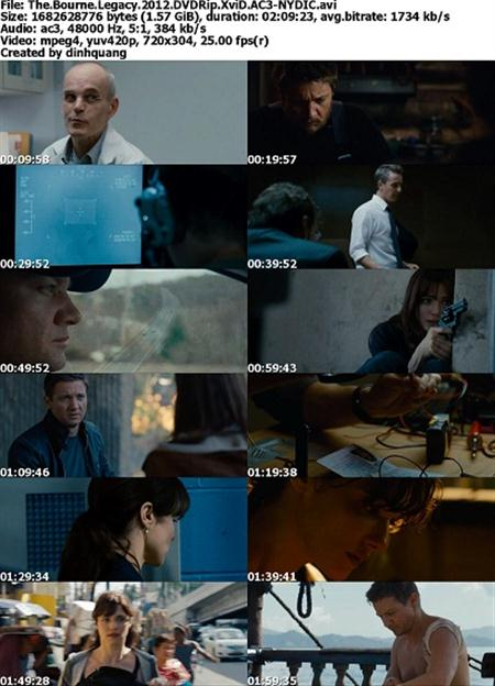 The Bourne Legacy 2012 DVDRip XviD NYDIC