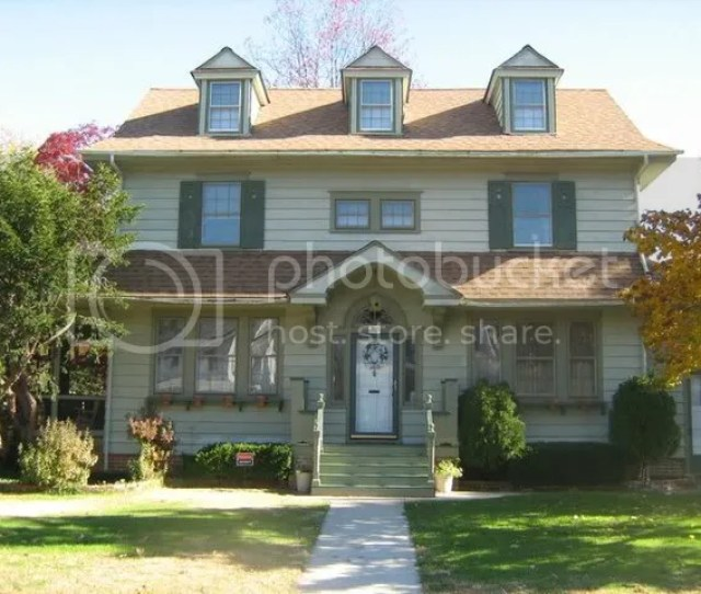 Re A Dutch Colonial Without A Gambrel Roof