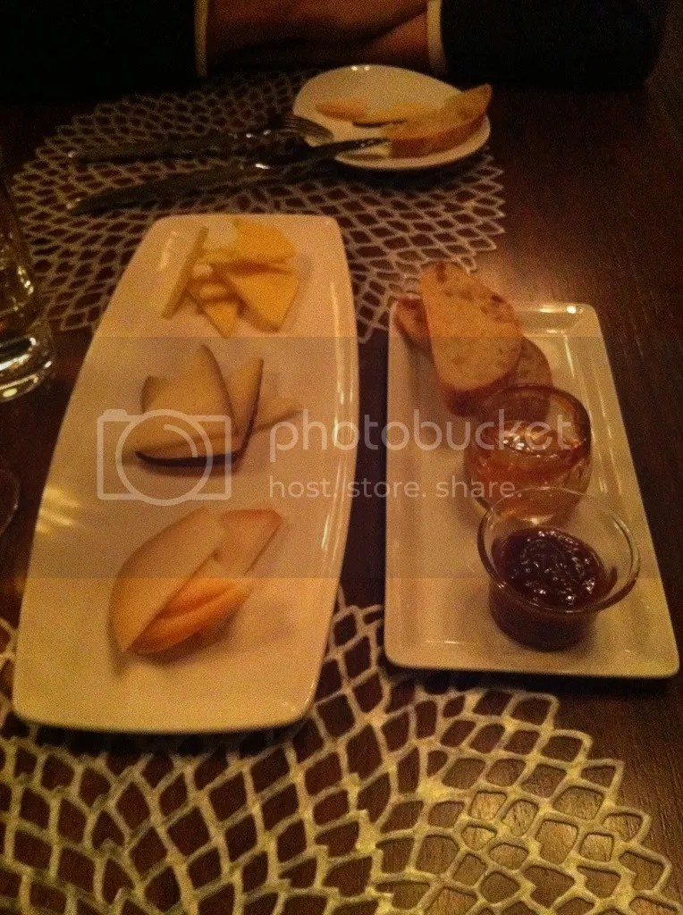 Reserve cheese plate